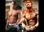 The rock has gyno in tons of his off season pics, but not in his dialed in pics. This indicates he just has a naturally high estrogen as many Samoans and African Americans do. when he cuts the fat off, the breast tissue comes off as well. It's possible he has a wet cycle on the left and a dry one on the right but it doesn't really matter, point is there is no permanent breast tissue formed in the hypothetical wet off season bulk, just chest fat so who cares?
